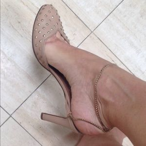 Valentino studded scalloped pumps 39